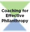 Coaching for Effective Philanthropy